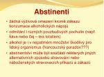 abstinenti