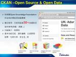 ckan open source open data