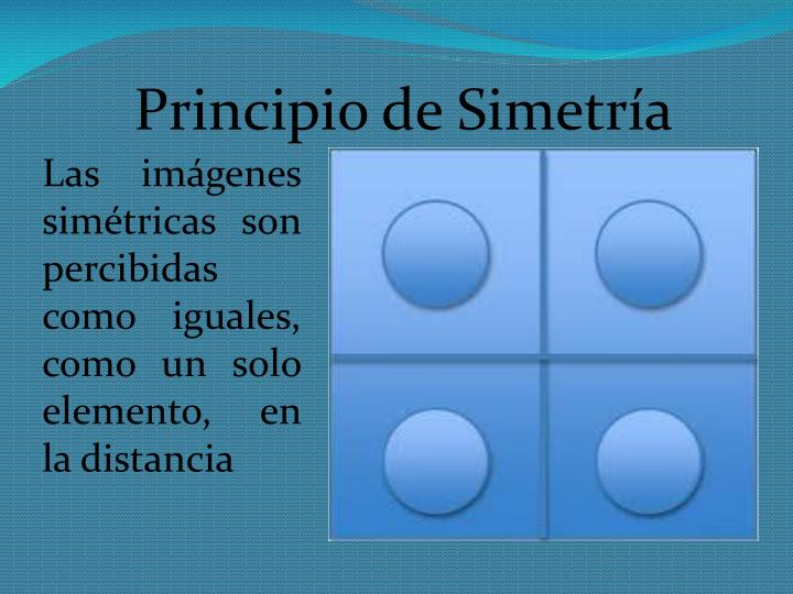 Principio de Simetría