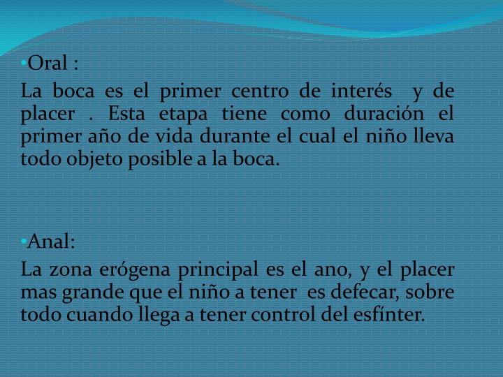 Oral :
