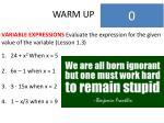 warm up4
