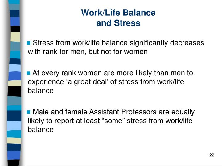 Work/Life Balance