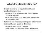 what does bmatrix box do