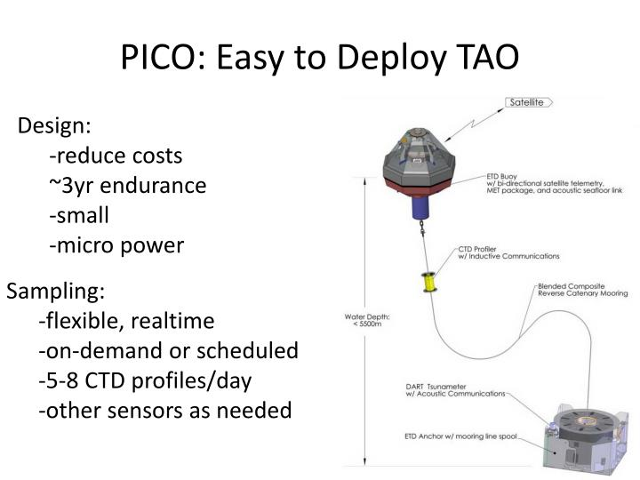 PICO: Easy to Deploy TAO