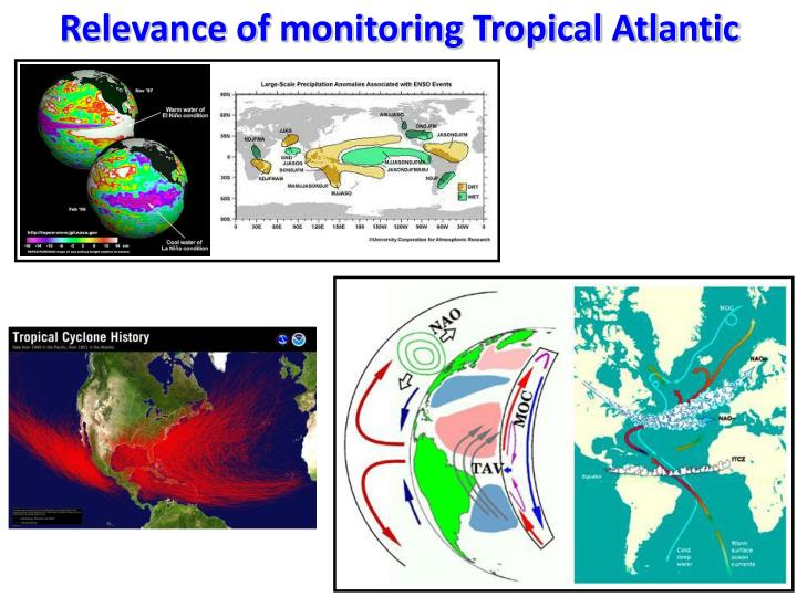 Relevance of monitoring Tropical Atlantic