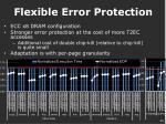 flexible error protection1