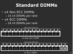 standard dimms