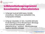 liiklusohutusprogrammi koostamise ettevalmistus1