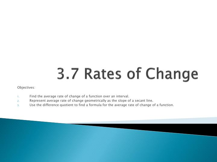 3 7 rates of change n.