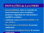 inova es da lei 6 938 81