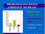 problemas da gest o ambiental no brasil