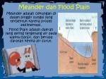 meander dan flood plain