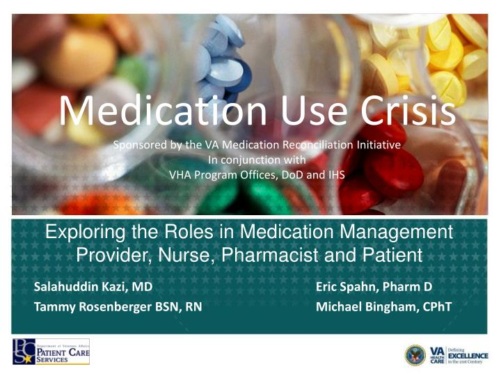 exploring the roles in medication management provider nurse pharmacist and patient n.