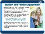 student and family engagement