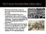 the franco prussian war 1870 1871