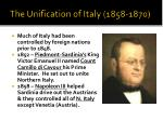 the unification of italy 1858 1870