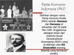 partai komunis indonesia pki