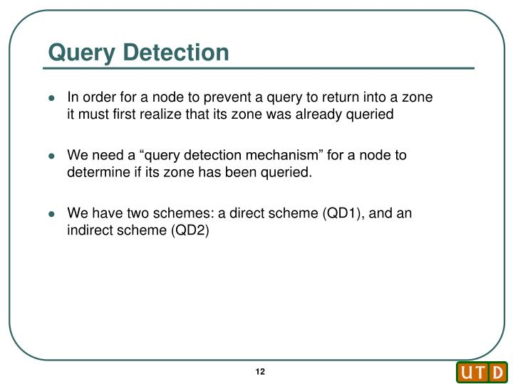 Query Detection