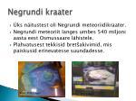 negrundi kraater