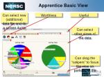 apprentice basic view