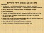 future transmission projects