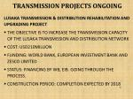 transmission projects ongoing5
