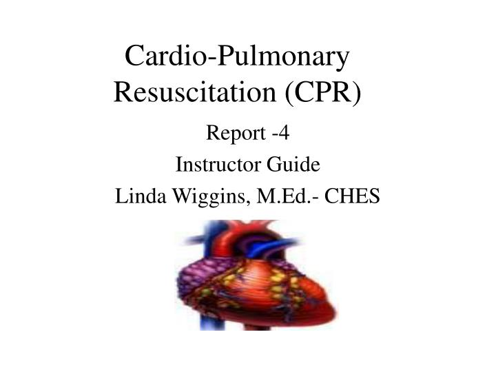 cardio pulmonary resuscitation cpr n.