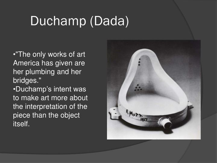 Duchamp (Dada)