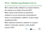 po 2 p ehled specifick ch c l 1