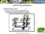 arm se operating modes16
