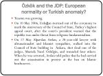 zk k and the jdp european normality or turkish anomaly8