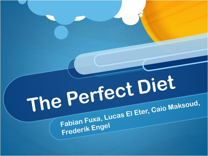 the perfect diet n.