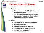 desain internal sistem1
