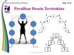 peralihan desain terstruktur