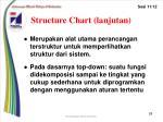 structure chart lanjutan