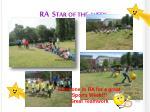 ra star of the week