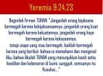 yeremia 9 24 23