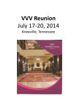 vvv reunion july 17 20 2014 knoxville tennessee