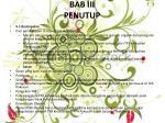 bab iii penutup
