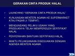 gerakan cinta produk halal