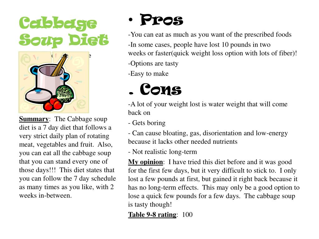 Ppt Cabbage Soup Diet Powerpoint Presentation Free Download Id 6494156