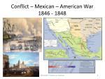 conflict mexican american war 1846 1848