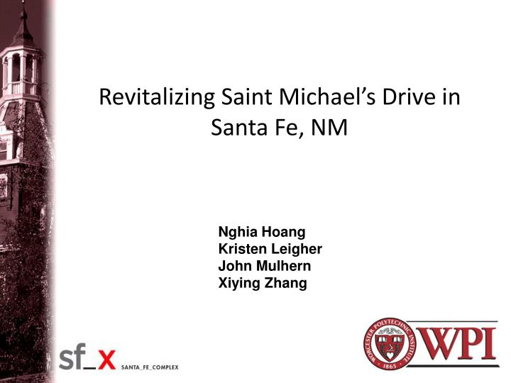 revitalizing saint michael s drive in santa fe nm n.