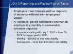 lo 3 reporting and paying payroll taxes