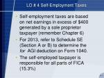lo 4 self employment taxes