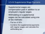 lo 6 supplemental wage payments