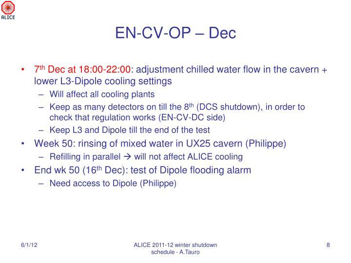 EN-CV-OP – Dec