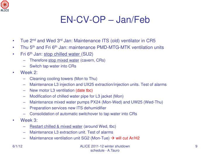 EN-CV-OP – Jan/Feb