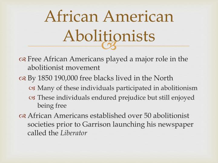 African American Abolitionists