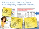 the moment of truth now occurs more frequently on retailer websites